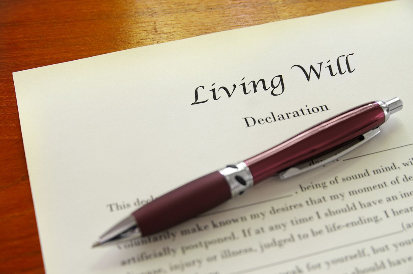 Why Seniors Need a Living Will
