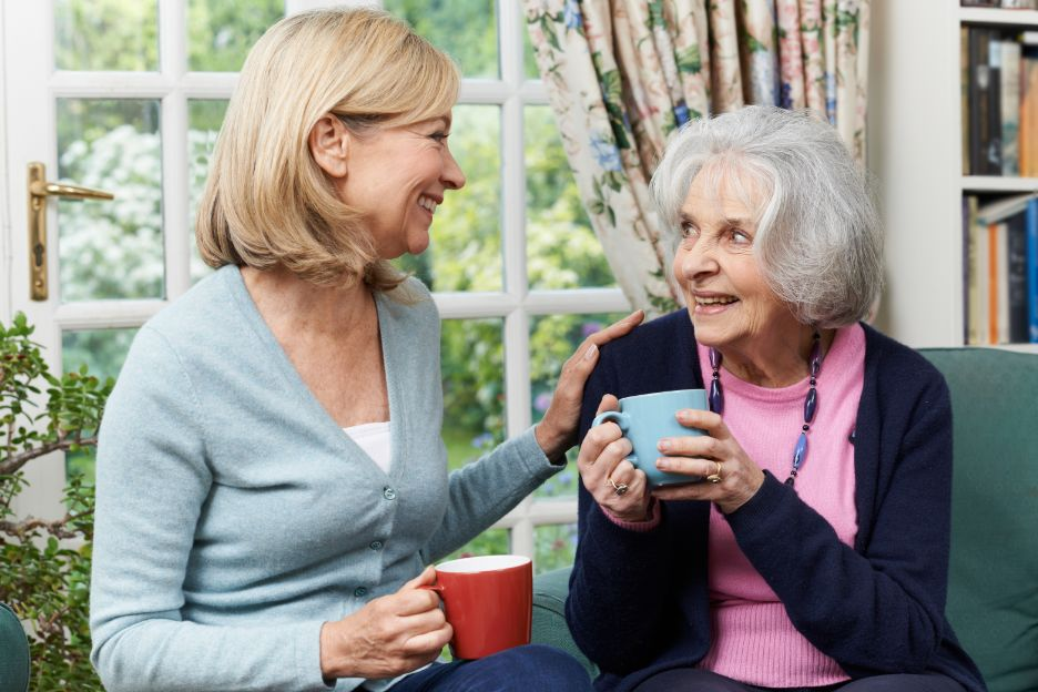 Visiting Friends and Family Keeps Seniors Young at Heart